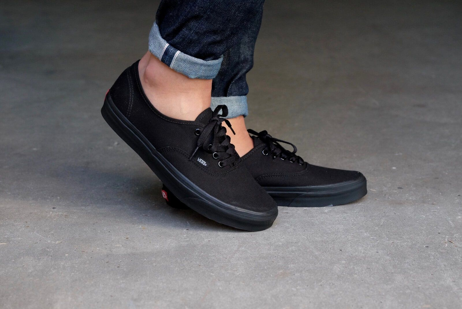 Vans Authentic Black Black - VN000EE3BKA  4c03ea53d5c6