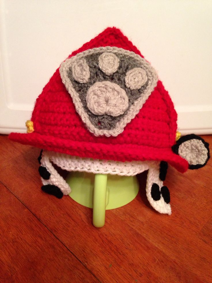 Image result for paw patrol crochet hat pattern free  e15cc8f189b