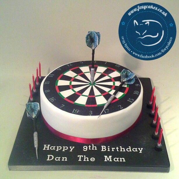 Dart Board Cake Made By The Foxy Cake Company Dardos Diana