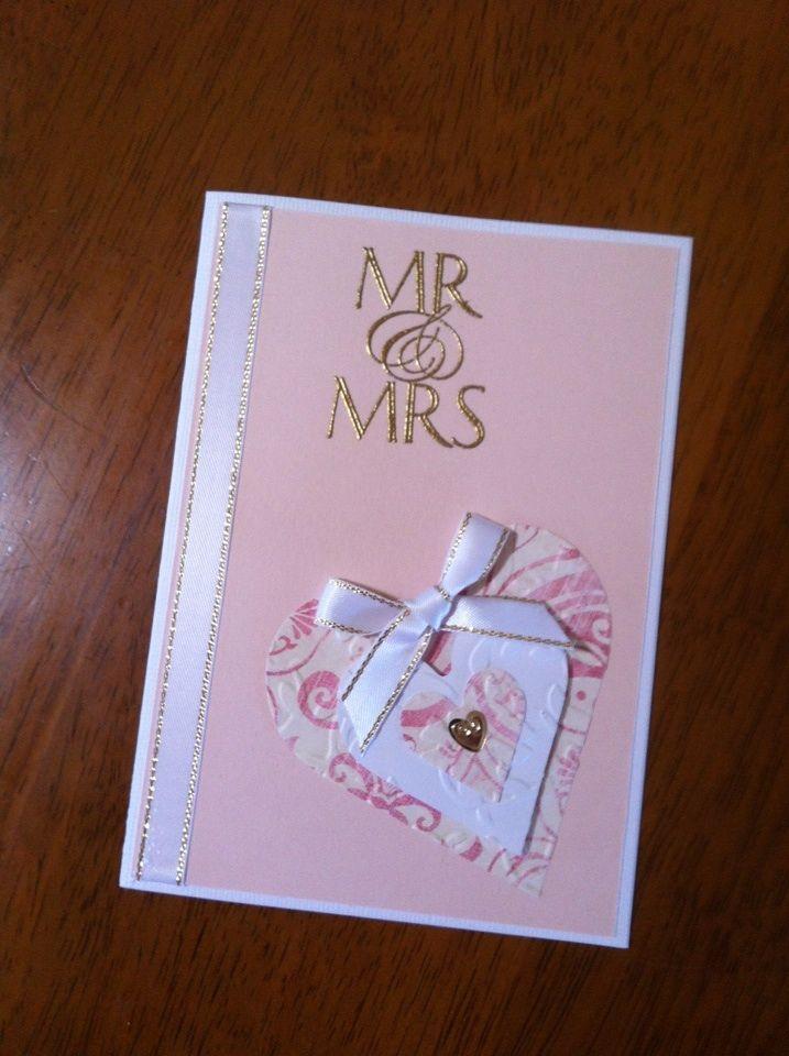 wedding card madenoreen meekins using kaszazz products