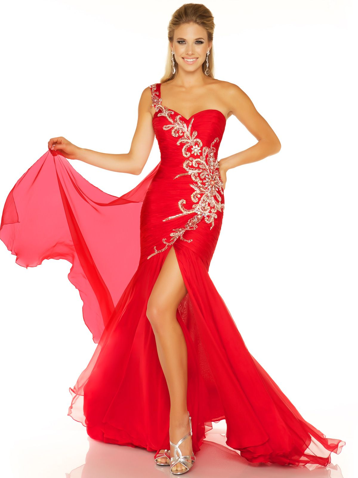 Bright Red Dresses Such As The Mac Duggal Evening Gown 6348p Look Amazing On Blonde Miss America Pageant Contestants And Th Moda Vestidos Maquillaje Para Ninas [ 1600 x 1200 Pixel ]