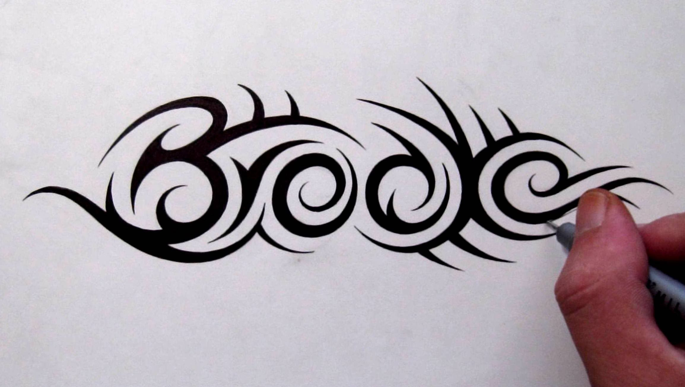 Custom Tattoo Designs Hidden Tribal Name Brooke Tribal Tattoo Designs Family Name Tattoos Name Tattoo Designs