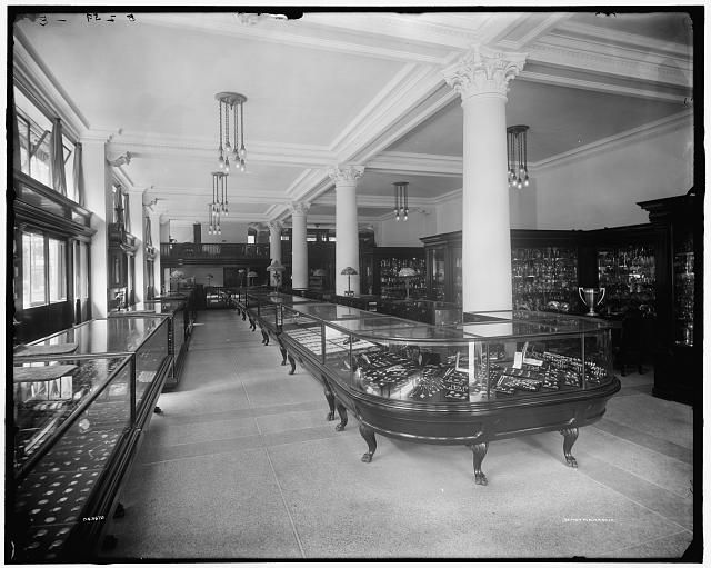 [Interior, Wright Kay & Co., Detroit, Mich.] between 1905 and 1915