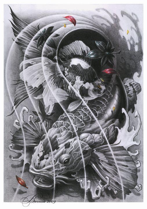 Wzory Tatuaży Ryba Szukaj W Google Tatu Wzory Tatuaży