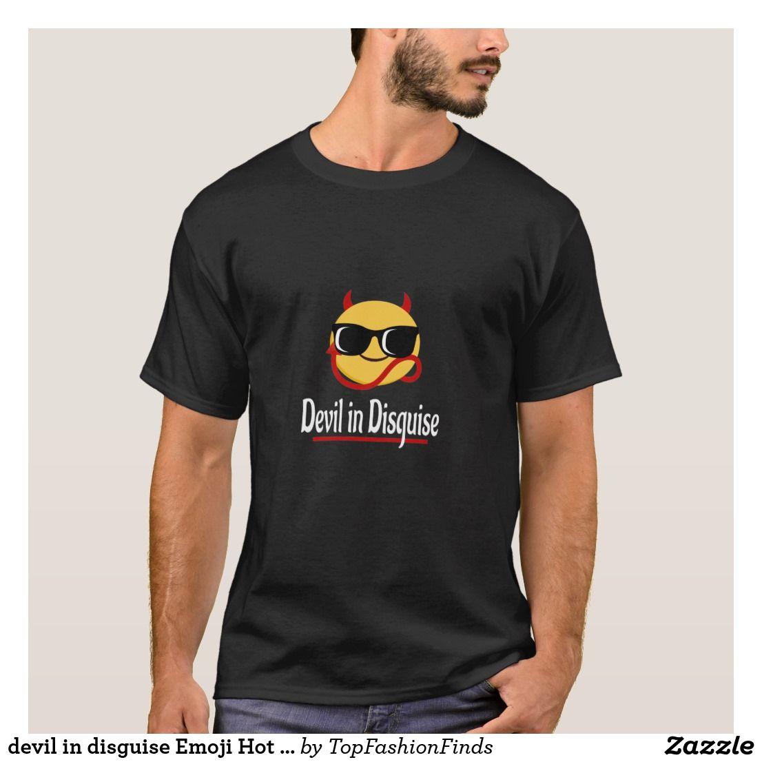 0bc791dc devil in disguise Emoji Hot Trendy Funny white T-Shirt | Zazzle.com ...