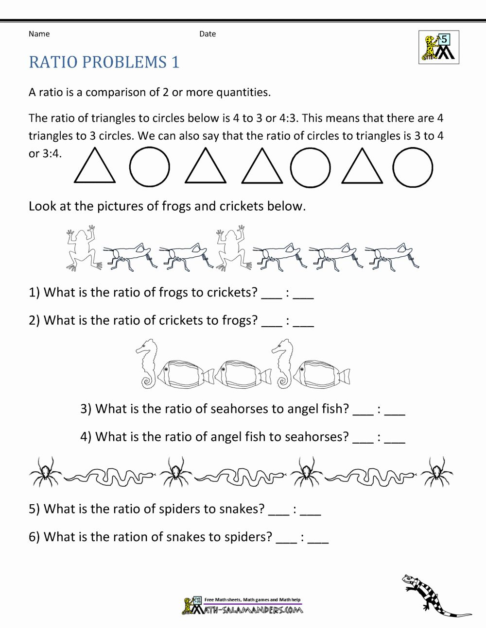 Worksheet Math Grade 5 In 2020 Free Math Worksheets Word Problem Worksheets Ratio And Proportion Worksheet
