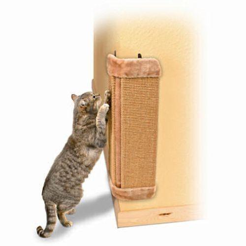24 corner wall mounted vertical sisal cat scratching post cat scratching post corner wall - Cat hammock scratcher ...