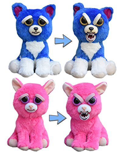 Feisty Pets Freddy Wreckingball The Blue Dog And Lady Monstertruck