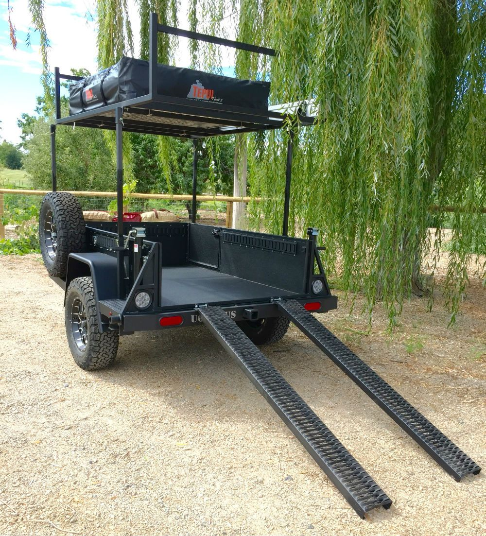 Ugoat Multi Trailer Is A Bombproof Tow Behind Campers