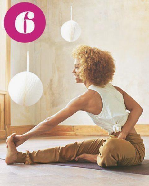 Mit Faszien Yoga entspannt durch den Tag #fitness #fitnesssprüche #sprüche #yoga