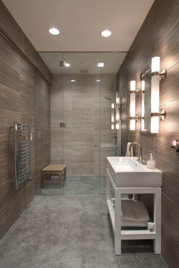 48 Concrete Bathroom Floor Ideas In, Concrete Floor Bathroom Ideas