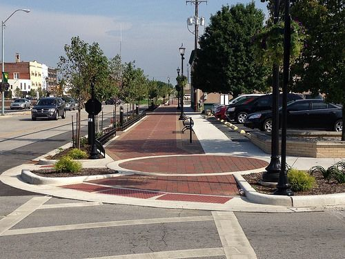 Image Result For Pedestrian Pavements Designs For Heritage Kokomo Indiana Pavement Design High Road