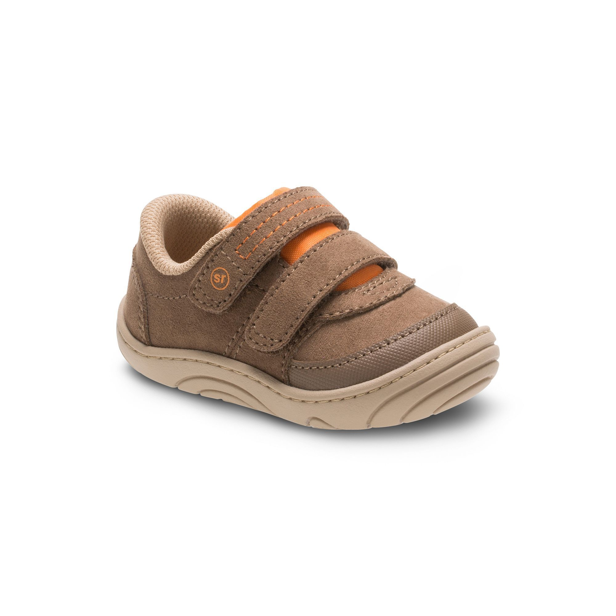 Stride Rite Kyle Baby Toddler Boys Sneakers Size 6 T Med Beige
