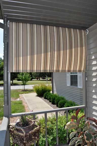 Rapid Roll Roller Shade Outdoor Privacy Screen Panels Outdoor