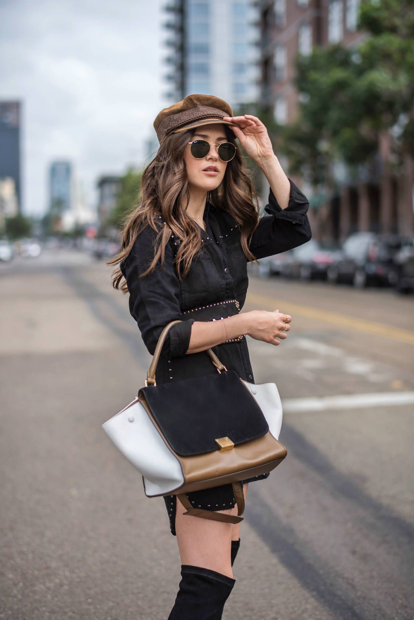 9af88f21be1 Must-Have Fall Accessory  The Baker Boy Hat - Blank Itinerary
