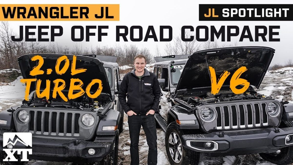 Jeep Turbo Vs V6 Offroad Which Jeep Wrangler Jl Engine Is Best Wrangler Jl Jeep Wrangler Jeep