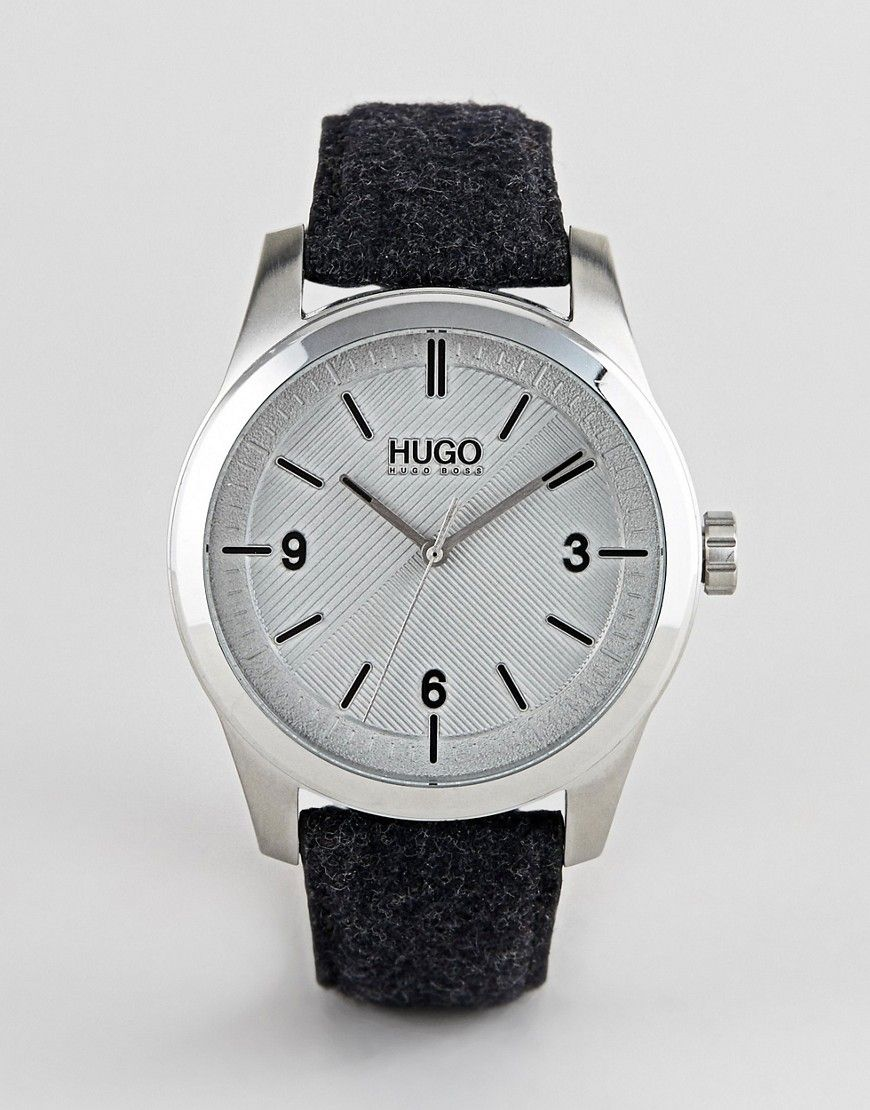 87440d853 HUGO 1530027 CREATE FELT STRAP WATCH IN GRAY - GRAY. #hugo | Hugo ...