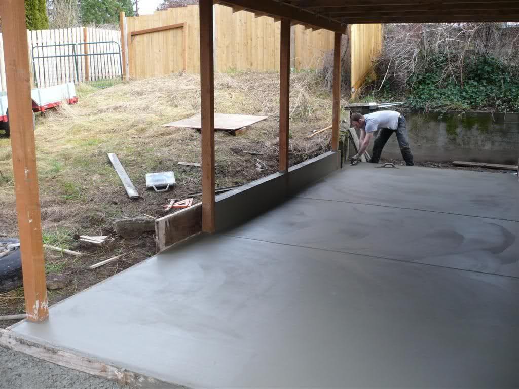 Lean to carport build The Garage Journal Board