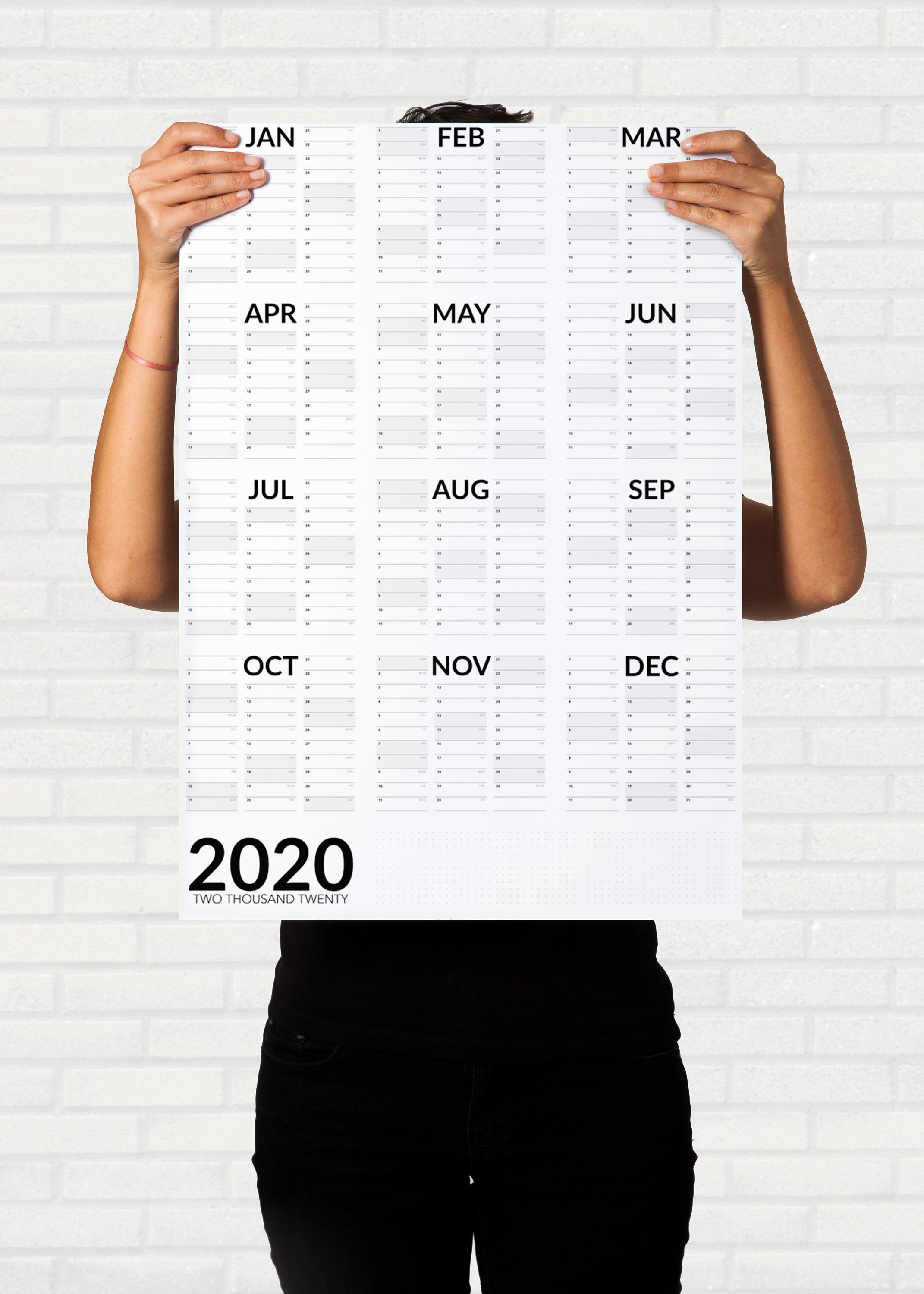2021 Wall Planner Printable A2 A1 Portrait Wall Calendar Etsy Wall Planner Wall Calendar Design Calendar Printables