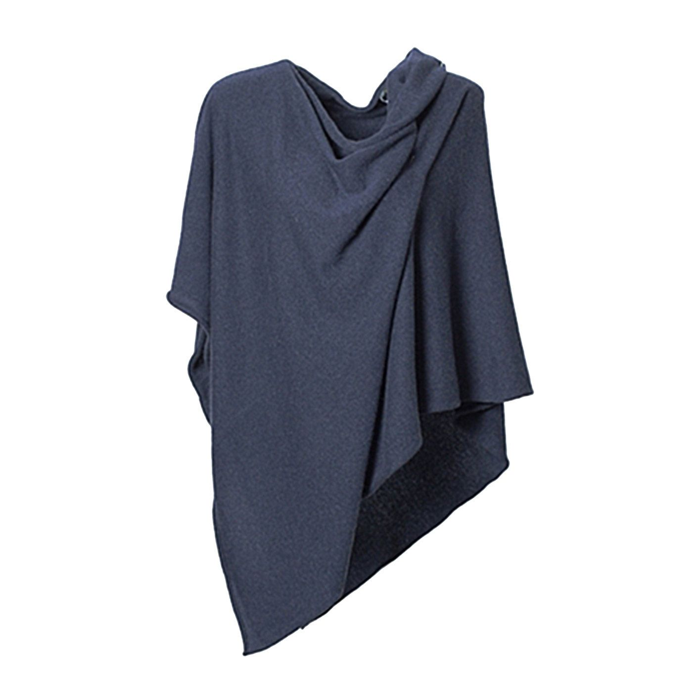 ANNA KRISTINE CASHMERE - Luxurious Denim Blue Pure Cashmere Poncho Topper by CashmereByAnnaK on Etsy https://www.etsy.com/listing/172975772/anna-kristine-cashmere-luxurious-denim
