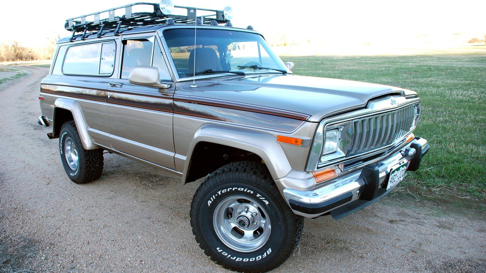1982 Jeep Cherokee Laredo Presented As Lot S82 At Denver Co