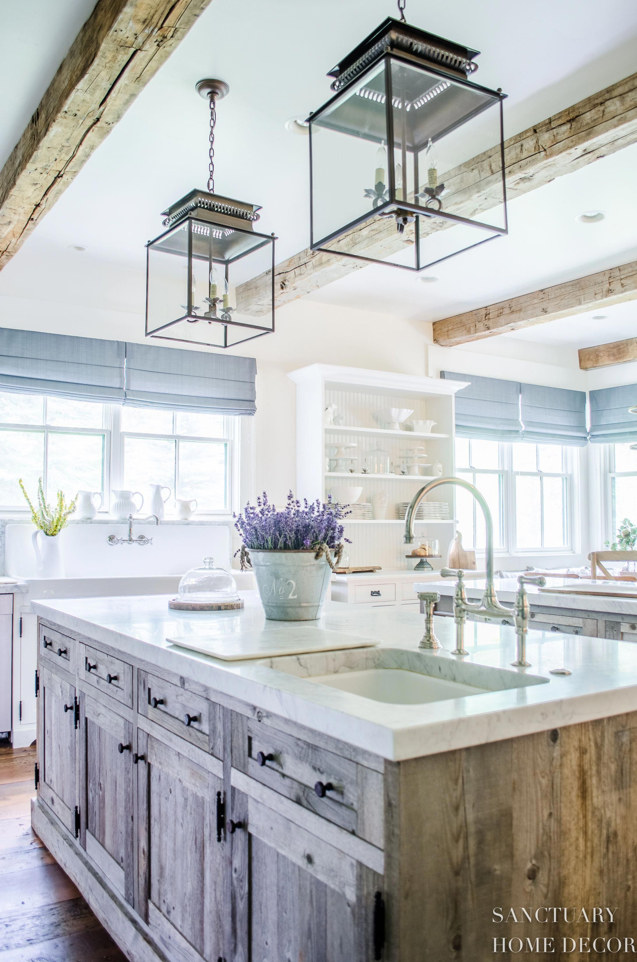 The Truth About White Marble CountertopsCountry Kitchen