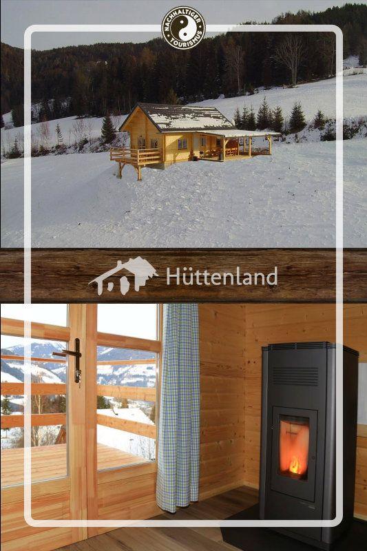 Urlaub in der grünen Steiermark. Die komfortable Holzhütte