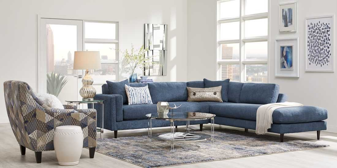 Living Room Furniture Rooms To Go Stonehill Beige 2 Pc Living Room In 2020 Blue And White Living Room Living Room Family Room Furniture Discount Living Room Furniture Rooms To
