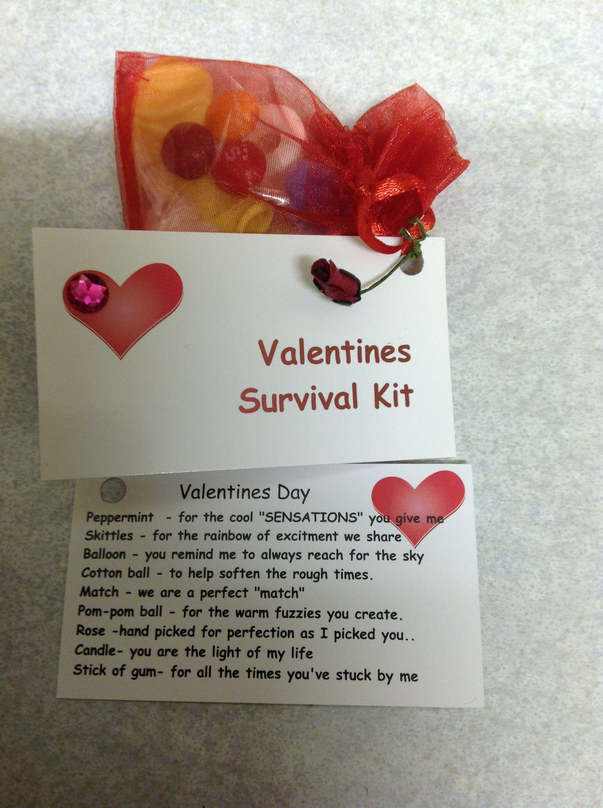 valentines survival kit £3  www.angelsandbutterflies.co.uk