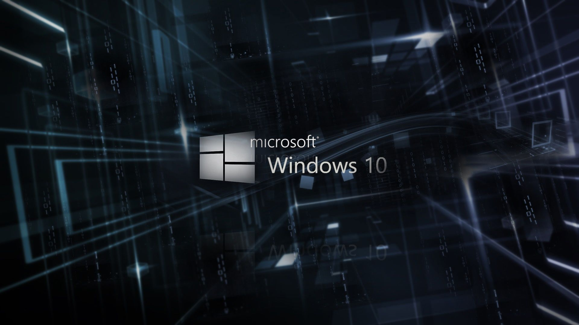Windows 10 Logo Desktop Wallpaper Hd Newwallpaperhd Com Wallpaper
