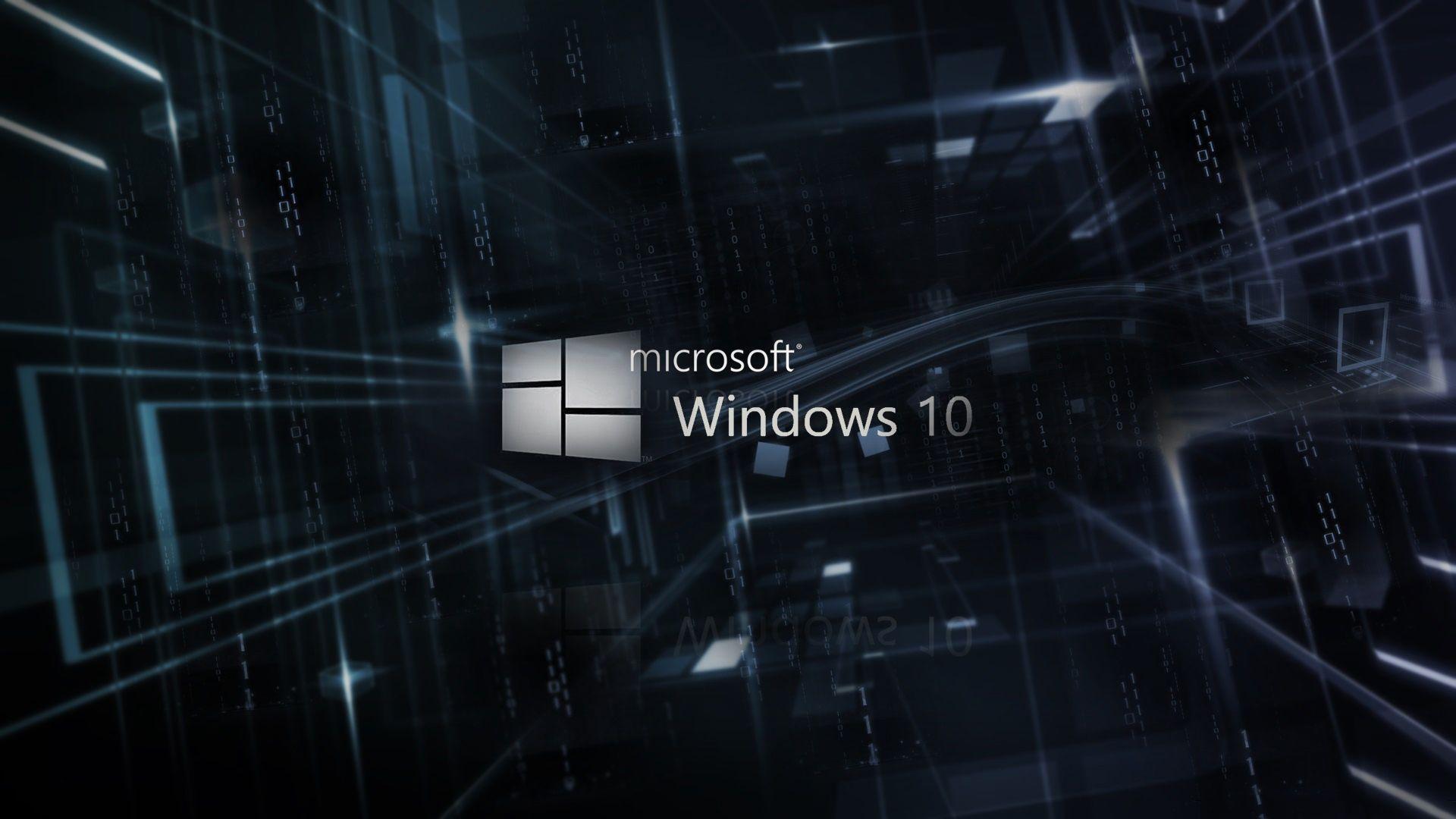 Windows 10 Logo Desktop Wallpaper Hd Newwallpaperhd Com
