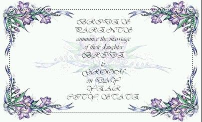 wedding invitations templates free