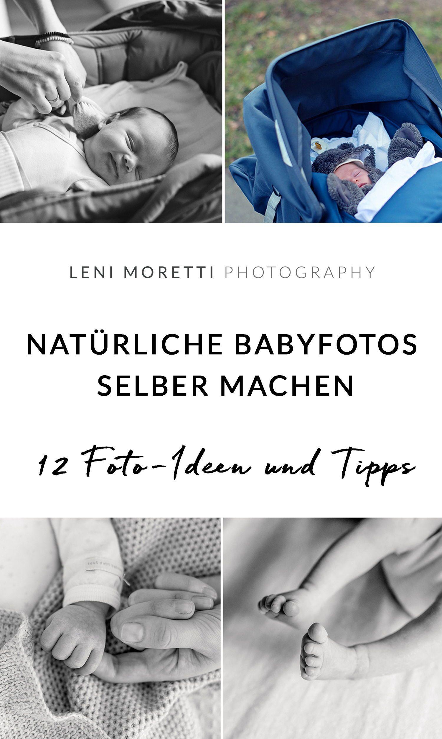 12 Foto Ideen Für Die Ersten Wochen Mit Eurem Baby Zu Hause
