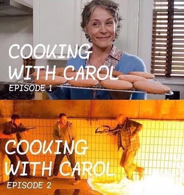 06f27757fad3001c88fd0be2e8c30643 the walking dead funny meme walking dead has stuff and thangs,Carol Meme Walking Dead