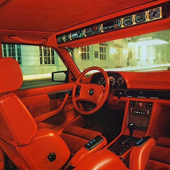 Mercedes Benz 1000SEL.1983