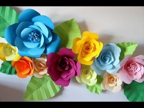 How to hang paper flowers for your room youtube crafts diy how to hang paper flowers for your room youtube mightylinksfo
