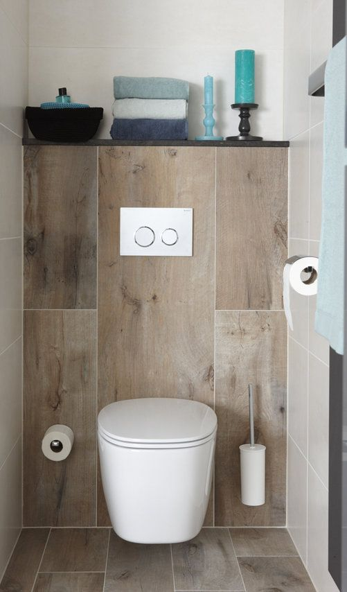 Houtlook toilet | badkamers | Pinterest | Toilet, Contemporary ...