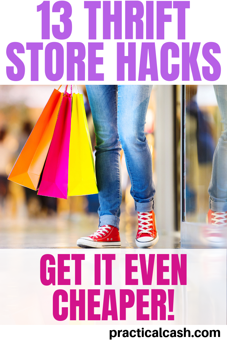 13 Shopping Hacks for the Best Thrift Store Finds #thriftstorefinds