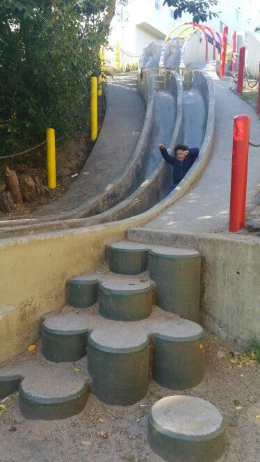 Slides of concrete :)