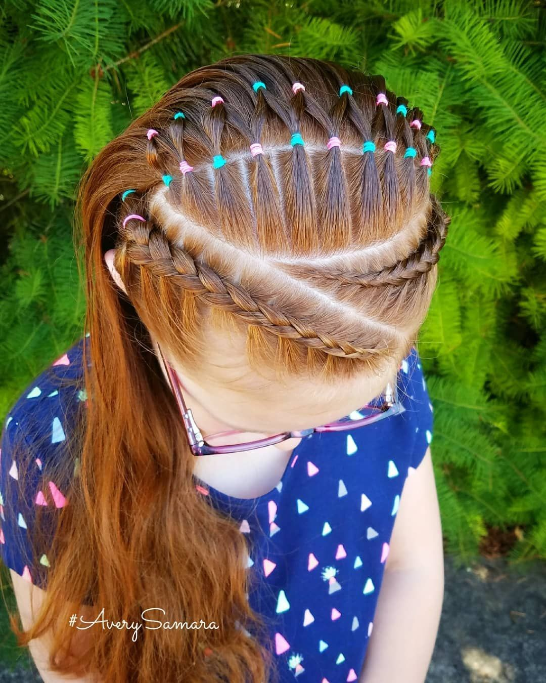 Dutch Braids Elastic Braid Styles Braid Combos Kids Hairstyles Braids For Kids Ginger Trenzas De Niñas Peinados Infantiles Peinados Con Trenzas Para Niñas