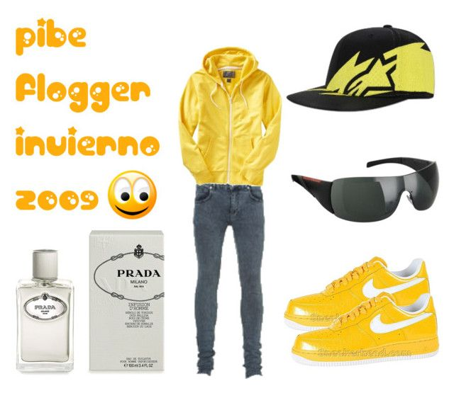 """pibe flogger invierno 2009"" by electrofries ❤ liked on Polyvore"