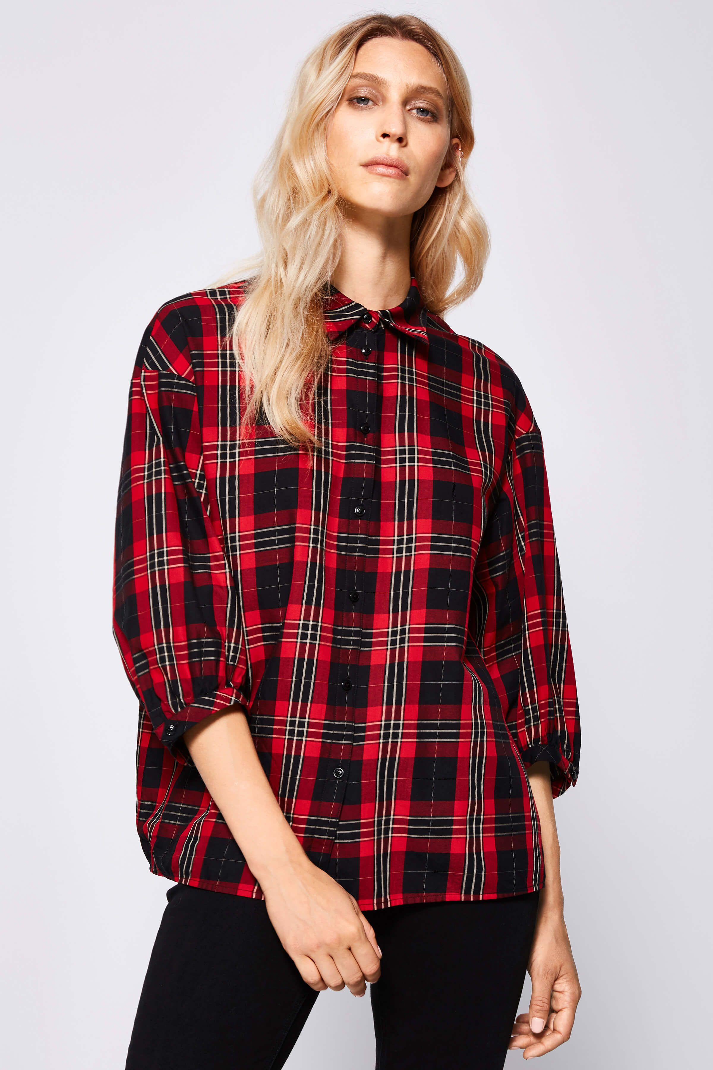 low priced b9352 18fa8 Drykorn blouse LINDSEY gekocht bij LLL outlet winter | Looks ...