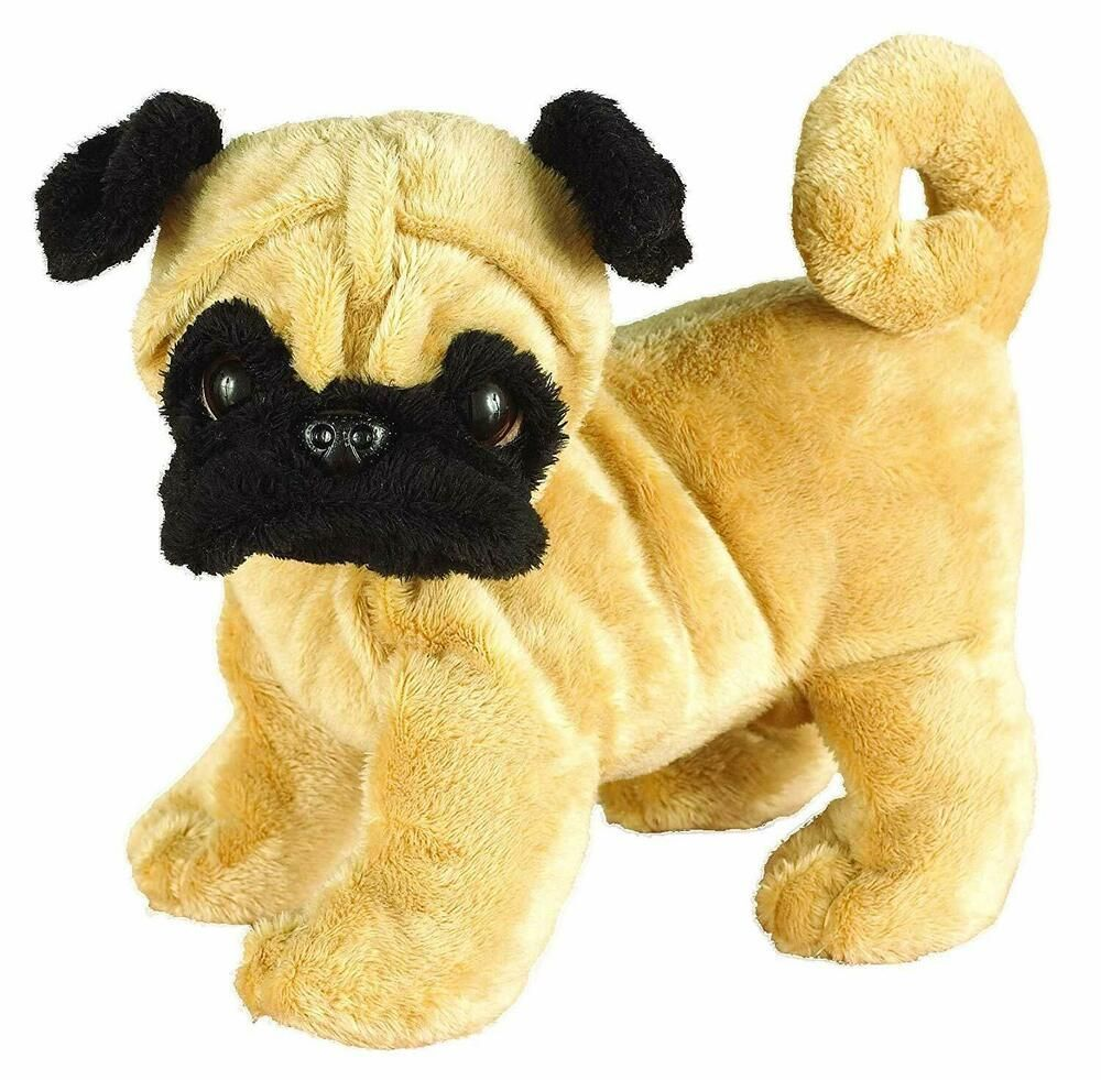 Details about webkinz pug plush with sealed code tag hm105