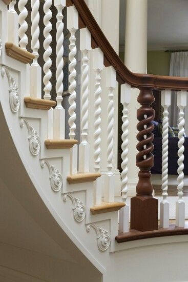 Crown Moulding Stair Accents Crown Moulding And