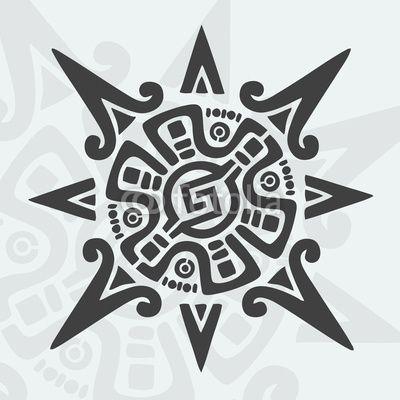 Mayan Design Symbol Fakegraphic 29288020 See Portfolio