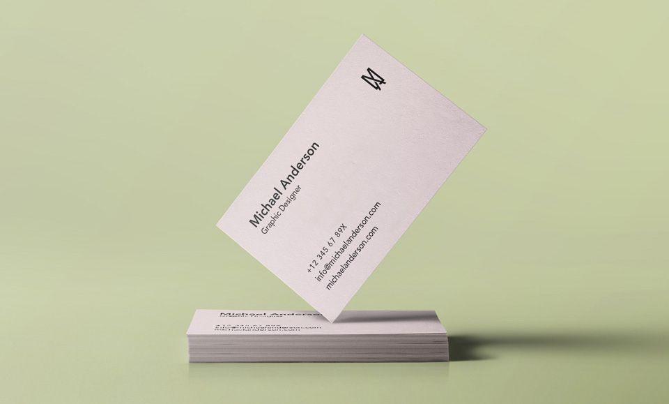 Free Business Card Mock Up Psd Free Business Card Mockup Psd
