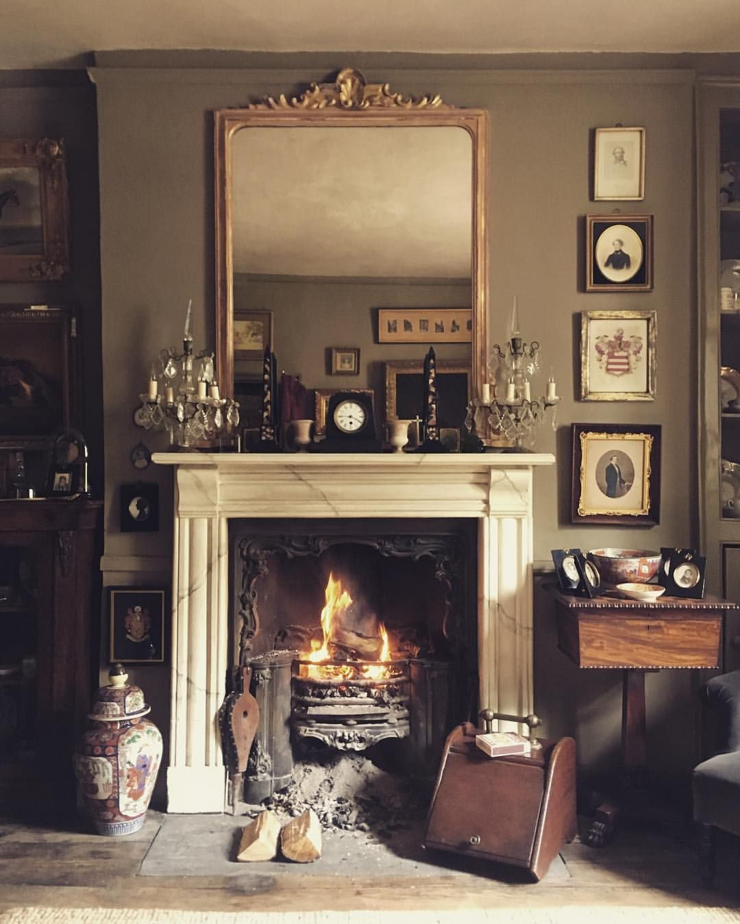 Pin by ell on fireplaces pinterest mantelpiece english country