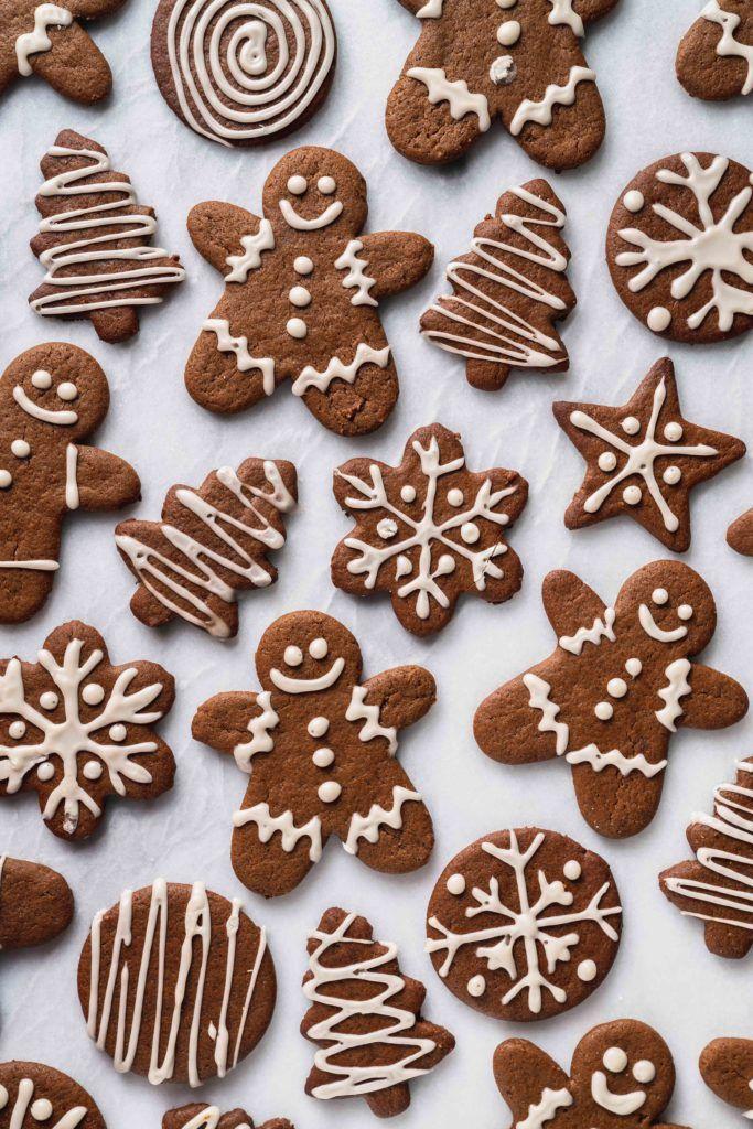 Vegan Gingerbread Cookies   Sweet Simple Vegan -   21 gingerbread cookies decorated christmas ideas