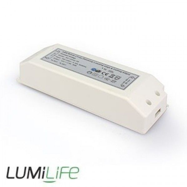 The Lumilife 30 Watt Dimmable Led Transformer Driver For Powering 12v Led Lighting Works Superbly With 1 Strip Lighting Led Strip Lighting 12v Led Strip Lights