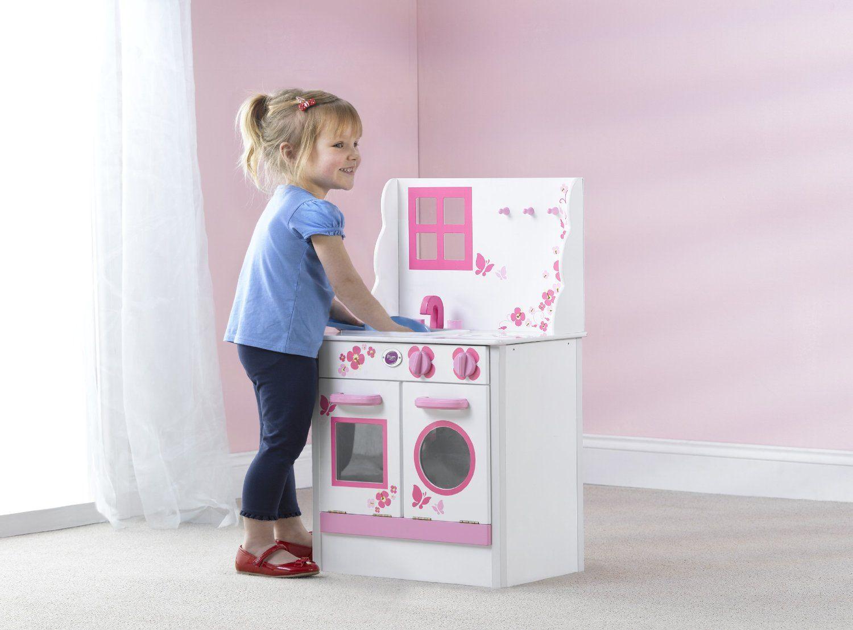 Plum Cabin - Cocina infantil de madera: Amazon.es: Juguetes y juegos ...